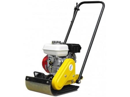 20-PCL50 - Lapvibrátor AGT PCL50 -    AGT PCL 50 lapvibrátor    Eredeti, ipari HONDA GX160motor, olajszint érzékelővel  Talpméret(sz×h) 31×43 cm  Súly 54 kg  Rezgéscsökkentővel ellátott vezetőkar    Leszállítotttartozékok:  szállítókerék  szilikon gumilap,rögzítővel       Súly (kg): 54   Motor: HONDA GX160 (5,5 LE)   Talp mérete sz*h (cm): 31*43   Centrifugális erő (kN): 8.2   Vibrációs frekvencia (Hz): 86   Tömörített mélység (cm): 20   Haladási sebesség (m/perc): 22   Leszállított tartozékok: szállítókerék, gumilap rögzítővel   VTSZ: 8430.6100   Csomagolás: fólia