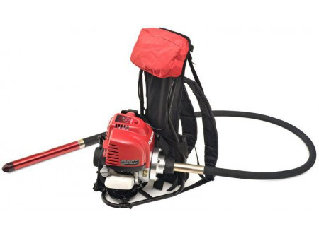 51-296281 - Betonvibrátor motor háti egység ENAR BackPack -  Háton hordozható benzinmotoros betonvibrátor(BackPack), ENAR TDX és TDXE tengelyekkel használható! 48-as fejig.   Forgóelemre szerelt motor, egyedülálló összeállítás  HONDA GX35 motor (4 ütem) Rugalmas tengely, excentrikus fej Centrifugális kuplung Gyors tengely leválasztás Teljes mobilitás, nem függ a villamosenergia-ellátástól Ergonomikus és kényelmes hátizsák Rögzítő övvel ellátva, hogy javítsa a felhasználó kényelmét            Szállítási kód  15    Motor  HONDA GX35 (1,6LE)    Rezgésszám (r.p.m.)  10.000    Csatlakoztatható tengelyek (db)  1    Fejtípusok (csatlakoztatható)  TDX, TDXE    Súly (kg)  7    Opció (rendelhető)  tengelyek, vibrátorfejek    Tengelyhosszak, választható (m)  2 - 3    Vibrátorfej Ø választható (mm)  25, 32, 40, 48    VTSZ  8479.1000    Csomagolás  papírdoboz
