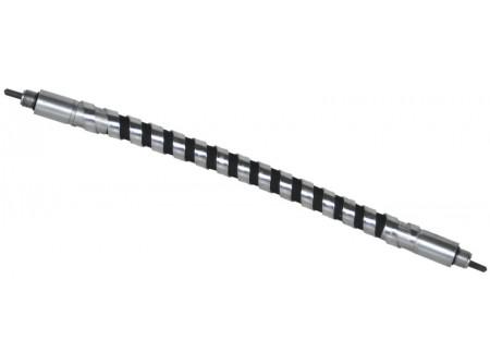 51-298100 - Betonvibrátor tengely ENAR VIB-BAR TBX 0,5m - - Hajlékony betonvibrátor tengely. - Hosszúság 0,5 m. - Fém hálóval erősített. - Acélszalaggal megerősített áttételi tengelyek.