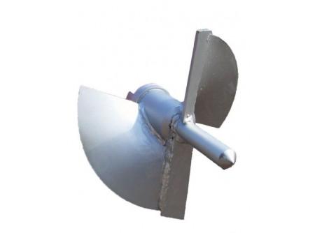 """55-930035 - Fúrófej, kétélű kezdőtag EUROKOMAX ipari talajfúrógéphez 200mm -  Feladata a föld kivágása és továbbítása a fúrószárakhoz  A fúrófej kis ellenállású, kétélű""""pillangófej"""", bármely azonos átmérőjű fúrószárhoz kapcsolódhat  Vízszintes fúráshoz ideális ez a fajta fúrófej    Hossz (teljes/hasznos): 240 / 180mm  Átmérő: 200mm        Szállítási kód  12    Max. furatátmérő (mm)  200    Súly (kg)  3,5    VTSZ  8430"""