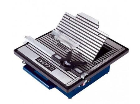 BUJ180A000 - Carat asztali csempevágó BUJ180-as -    HITACHI,Asztali csempevágó Carat BUJ180A000       Kompaktcsempevágó gép Nagy méretű alumínium vágóasztal Csúszósínes szögállítás 90º-ban Gérvágás 45º-ban Kábeltartó Fogantyú     Leszállított tartozékok:  Gyémánttárcsa 180 mm        Letölthető termékismertető            Szállítási kód  15    Motor  elektromos ~1    Feszültség (V)  230    Motor teljesítménye (W)  750    Tárcsa átmérő (mm)  180    Vágási mélység (mm)  30    Tengelyátmérő (mm)  25,4    Súly (kg)  16    VTSZ  8464    Csomagolás  papírdoboz
