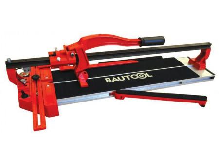 92-NL210600 - Csempevágó lézervezetővel BAUTOOL 600mm csapágyas -  Kézi csempevágó    PRECÍZ. IGÉNYES. GYORS. TISZTA.  Az NL210-es modelleknél egy lézervonal segíti a vágást.  Csúszásmentes és tartósfelfekvő felület Vágható vastagság: 7,5-15 mm Nagy teherbírásúalumínium öntvény alaplap Állíthatófémvonalzóés szögbeállítás Két oldalon 6 csapágyon futó egysoros vezetősín Fix fém vonalzó a pontos vágáshoz Ø 22 mm volfrámkarbidcsapágyazott vágókerékkelfelszerelve Vágási hossz: 600 mm       Szállítási kód 20   Vágható vastagság (mm) 7,5 - 15   Vágási hossz max (mm) 600   Lézervezető van   Opció (rendelhető) vágókerék   Méret h×sz×m (mm) 880×250×400   Súly (kg) 8   VTSZ 846490   Csomagolás papírdoboz
