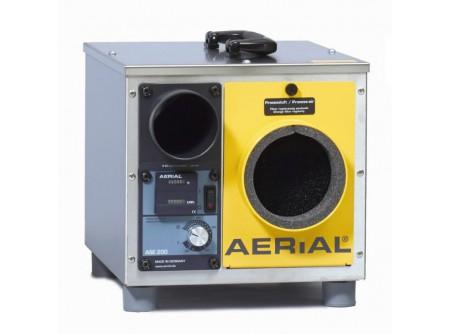 ASE200 - Adszorpciós párátlanító AERIAL ASE200 -  IPARI PÁRÁTLANÍTÓ BERENDEZÉS AERIAL ASE 200ADSZORPCIÓS PÁRÁTLANÍTÓ    Az ASE 200 egy erős és robusztus gépezet, számos felhasználási területe mellett ideális avízkárosodás utáni szárításhoz is.  A készülék ECODRY rotorja rendkívül energiatakarékos - a műszaki leírások önmagukért beszélnek. A légfrissítés az önszabályozós PTC fűtőelemen keresztül történik. A PTC fűtőelemek a fűtési funkciójukon kívül, önálló hőmérséklet szabályozóval is rendelkeznek.Ez eredményezi a maximális biztonságothasználat közben.  Alapfelszereltség és különlegesség egyben,az ASE 200 beépített, szabályozható páratartalom mérője. Az egység környezetéhez mérten állítható, akárhol használják. A mérőegység egy kombinált üzemóra számlálóval (óra+ kW) van felszerelve a költségek és az üzemidő követésecéljából.  Az ASE 200 kopásálló,gumi lábakkal van felszerelve a nagyobb stabilitásés apadlózat védelme érdekében. Az egységek akáregymásra is helyezhetőek, az összecsukható fogantyú pediga szállítást könnyíti meg.    • Gáz és kompresszor nélküli berendezés  • Rozsdamenetes acélból és porfestett acéllemezből készült készülékház  • Nagy teljesítményű ECODRY G3 rotor, maximális páraelnyelés  • Egy ventilátor a száraz és nedves levegő számára  • Kényelmes fogantyú a könnyű szállításhoz  • Könnyen kivehető és tisztítható rotor  • Hatékony centrifugál ventilátor  • Nagy teljesítményű, biztonságos, önműködő PTC fűtőbetét  • Beépített páratartalom-mérő  • Üzemóraszámláló és fogyasztásmérő  • Működés közben egymásra rakhatóak a gépek  • Aerial márkájú termék  Rendelhető opciók:   Thermaflex cső: 80 mm - 4620.103, 100m - 4620.105 PE cső 50 mm - 4620.102 Szűrőbetét: ASE 200 - 4620.101   Kapacitás: (20°C/60% RH) 18,75liter/24 Légszállítás - száraz/nedves levegő: 210/110m3/h            Szállítási kód  20    Kapacitás (20°C/60% RH)  18,75    Külső nyomás - száraz/nedves levegő (m3/h)  150/50    Légszállítás - száraz/nedves levegő (m3/h)  210/110    Motor teljesítménye