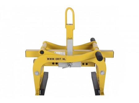 H-600-600-1021-000 - Általános emelő ORIT H-600 -  ORIT GÉPI EMELŐ   H-600 típus: átfordítható pofák, gumi és vídia betéttel Emelés, kiszedés, igazítás vagy áthelyezés (építőipari/ szerkezeti elemekhez) Nagyon olcsó megoldás, a gyári adaptereknél lényegesen kedvezőbb áron! Mindenféle gépre alkalmazható /targonca, földmunkagép, stb./ csak fel kell függeszteni a gépre és már emelhet is! Automata mechanikus záródás és kioldás.    Befogható méret: 5 - 60 cm Súly:33 kg Emelési súly: 600 kg