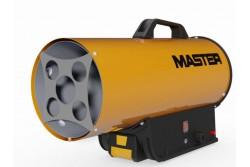 Hőlégfúvó MASTER BLP17M DC (PB-gázos 16kW) szett (akku+töltő)  BLP17MDC