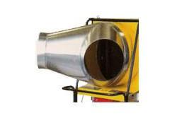 Kétcsöves levegőkivezetés 2 x 500mm BV690 (egycsöves kivezetésre)  4514.080