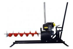 Vízszintes ipari talajfúrógép EUROKOMAX benzines (tartozékokkal)  55-930025