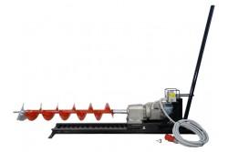 Vízszintes ipari talajfúrógép EUROKOMAX elektromos 400V (tartozékokkal)  55-930148