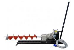 Vízszintes ipari talajfúrógép EUROKOMAX elektromos 230V (tartozékokkal)  55-930257