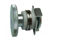 Huzalfeszítő kerék szett 3D (tengely, szigetelések, lemez, kézi anya)  65-731002