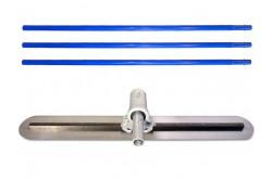 Kézi betonlehúzólap BETONTROWEL állítható fejű, acél 90cm  75-BT700044