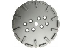 Gyémánt csiszolótárcsa (250mm, öreg beton, műgyanta, 8 rögzítő furattal)  94-930196